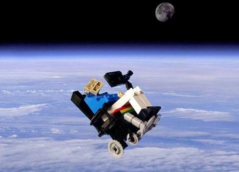 Legohawk mit Zeitmaschine