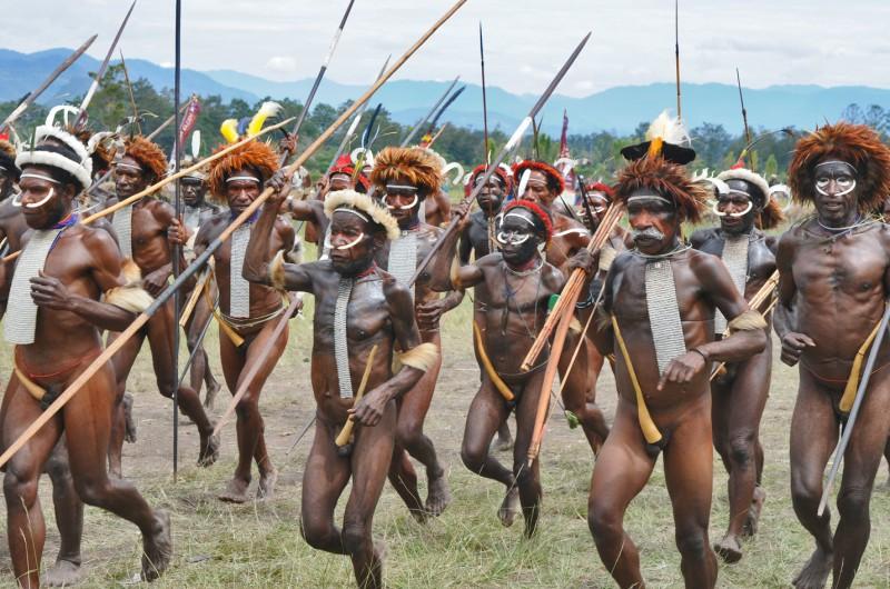 Krieger mit Koteka