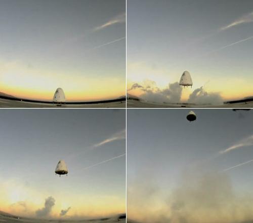 Goddard Testflug