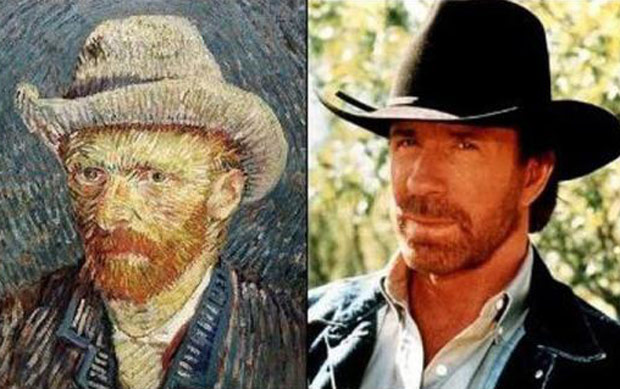 Chuck-Norris_VincentVanGogh