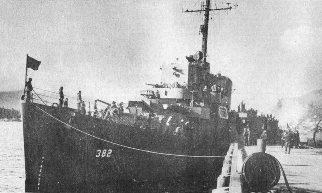 U.S.S. ELDRIDGE (DE-173)